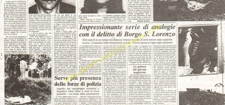<b>9 Giugno 1981 Stampa: La Nazione</b>