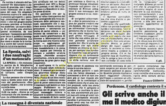 <b>4 Settembre 1982 Stampa: La Stampa Pag.9</b>