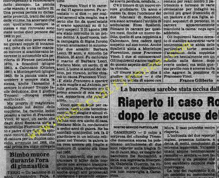 <b>9 Settembre 1982 Stampa: La Stampa Pag.9</b>