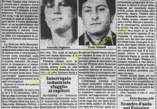 <b>22 Giugno 1982 Stampa: La Stampa Pag.9</b>
