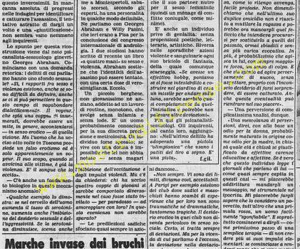 <b>25 Giugno 1982 Stampa: Stampa Sera Pag.10</b>