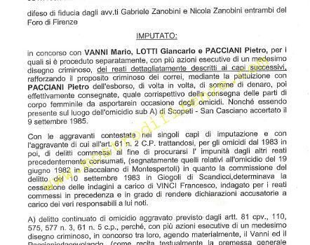 <b>21 Maggio 2008 Sentenza Silvio De Luca processo Francesco Calamandrei</b>