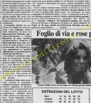 <b>21 Giugno 1982 Stampa: Stampa Sera Pag.8</b>