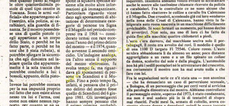 <b>10 Agosto 1984 Stampa: La Nazione</b>