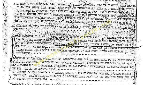 <b>23 Agosto 1968 Interrogatorio di Stefano Mele 11.35 (2°)</b>
