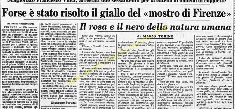 <b>27 Gennaio 1984 Stampa: Corriere della Sera</b>