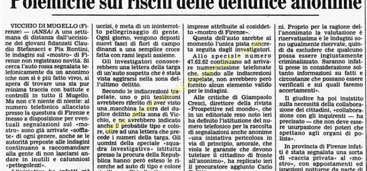 <b>7 Agosto 1984 Stampa: Corriere della Sera</b>