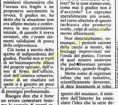 <b>18 Agosto 1984 Stampa: Corriere della Sera</b>