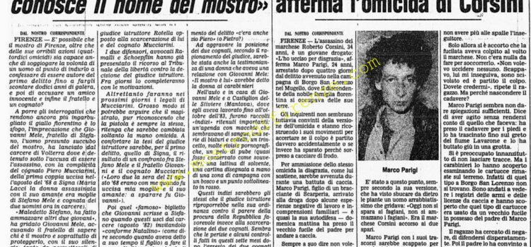 <b>25 Agosto 1984 Stampa: Corriere della Sera</b>