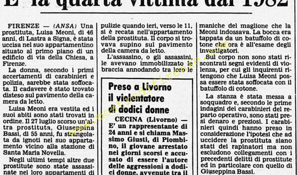 <b>14 Ottobre 1984 Stampa: Corriere della Sera</b>