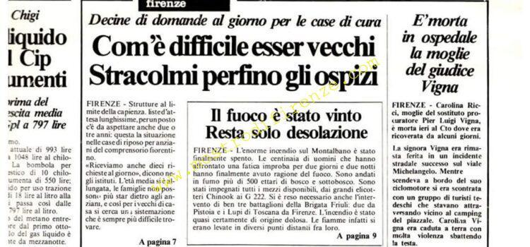 <b>30 Settembre 1983 Stampa: La Città Pag 1</b>