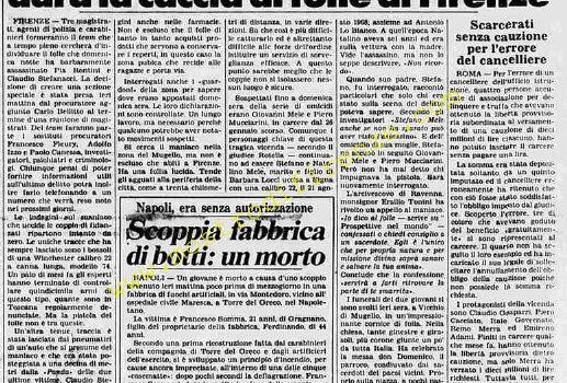<b>2 Agosto 1984 Stampa: La Stampa</b>