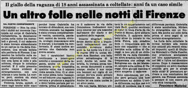 <b>3 Marzo 1984 Stampa: La Stampa</b>