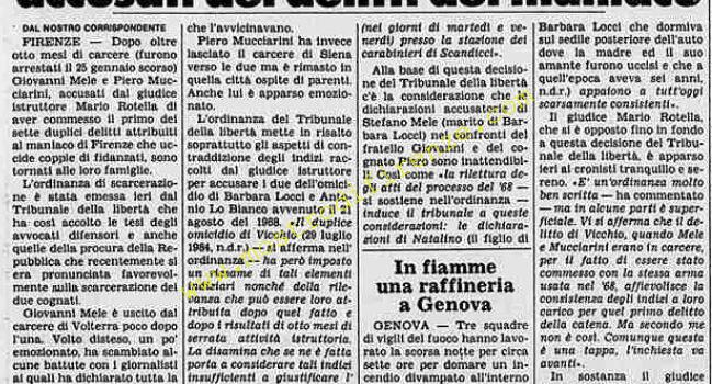 <b>3 Ottobre 1984 Stampa: La Stampa</b>