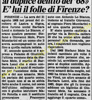 <b>6 Settembre 1984 Stampa: La Stampa</b>