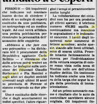 <b>8 Agosto 1984 Stampa: La Stampa</b>