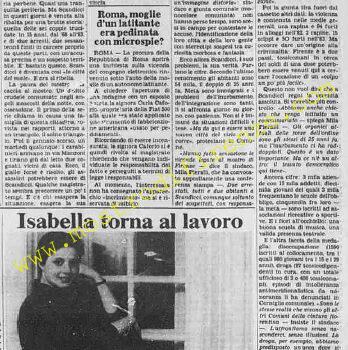 <b>9 Febbraio 1984 Stampa: La Stampa</b>