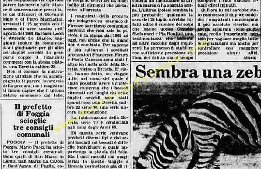 <b>11 Agosto 1984 Stampa: La Stampa</b