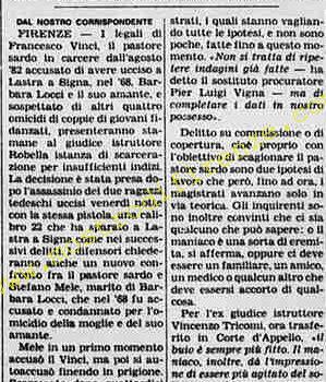 <b>14 Settembre 1983 Stampa: La Stampa</b>