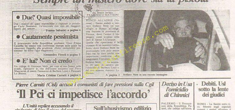 <b>29 Gennaio 1984 Stampa: La Città</b>