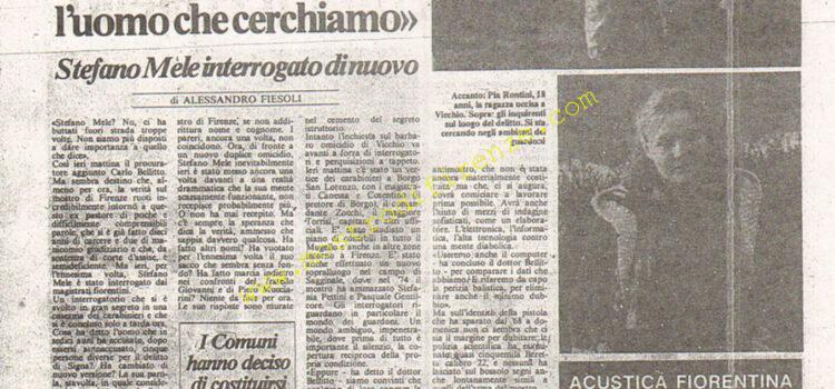 <b>4 Agosto 1984 Stampa: La Città</b>