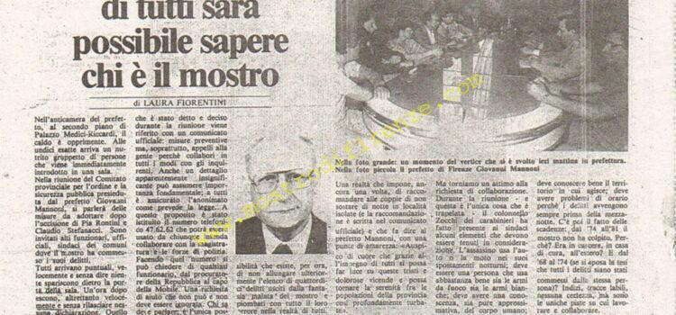 <b>6 Agosto 1984 Stampa: La Città</b>