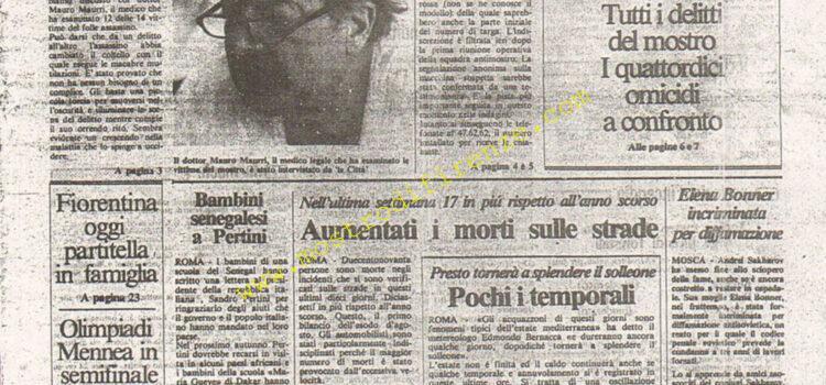 <b>7 Agosto 1984 Stampa: La Città</b>