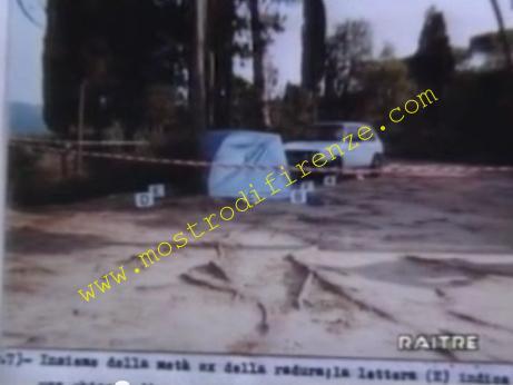 <b>9 Settembre 1985 Primo sopralluogo alla piazzola di Scopeti</b>