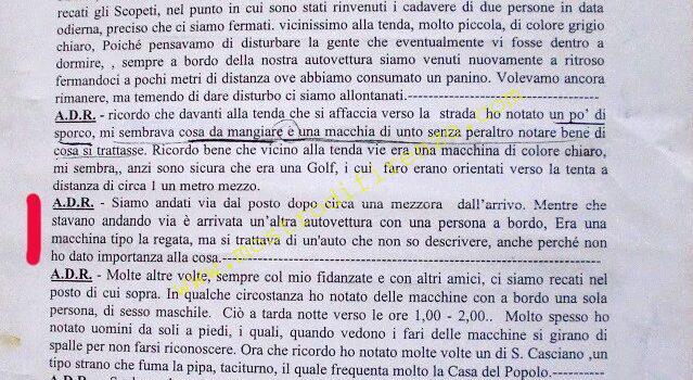<b>9 Settembre 1985 Testimonianza di Sabrina Carmignani</b>