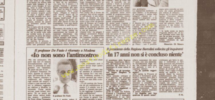 <b>12 Settembre 1985 Stampa: La Città</b>