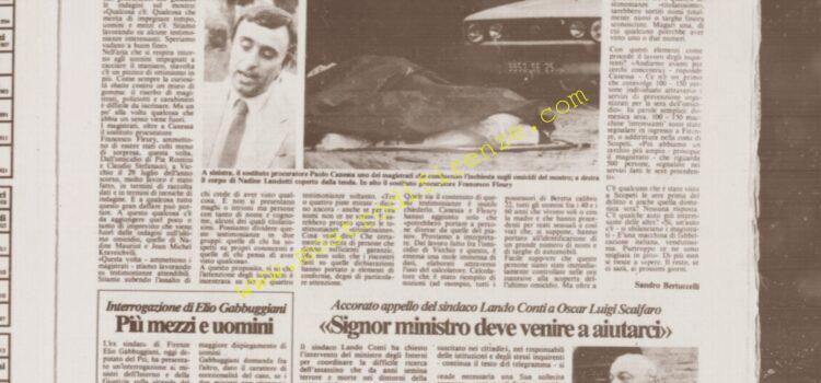 <b>13 Settembre 1985 Stampa: La Città</b>
