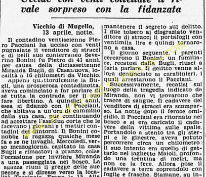 <b>14 Aprile 1951 Stampa: Corriere della Sera</b>