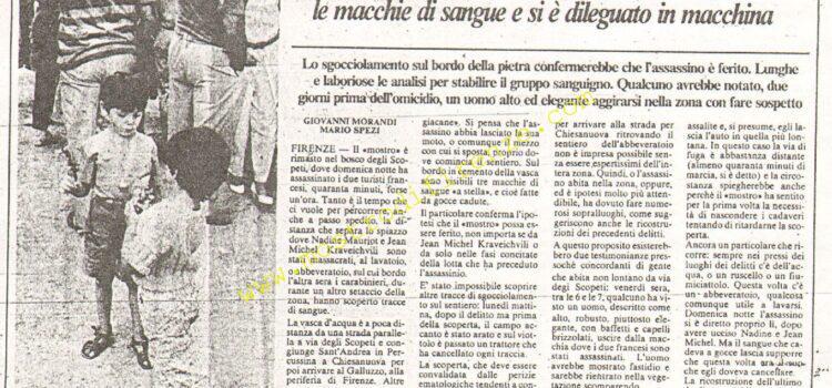 <b>16 Settembre 1985 Stampa: La Nazione</b>