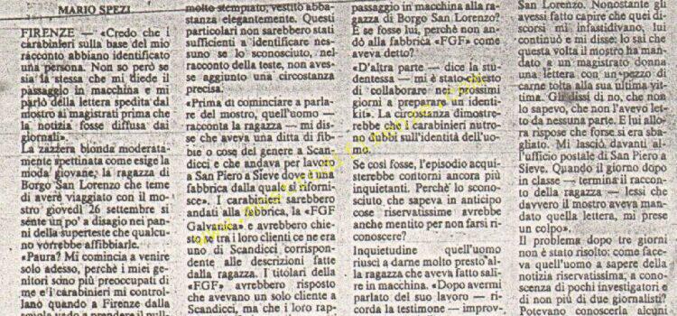 <b>19 Ottobre 1985 Stampa: La Nazione</b>