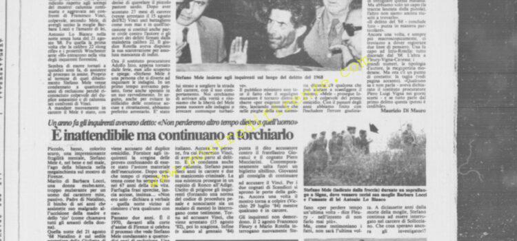 <b>19 Settembre 1985 Stampa: La Città</b>