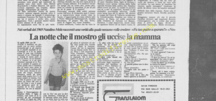 <b>21 Settembre 1985 Stampa: La Città</b>