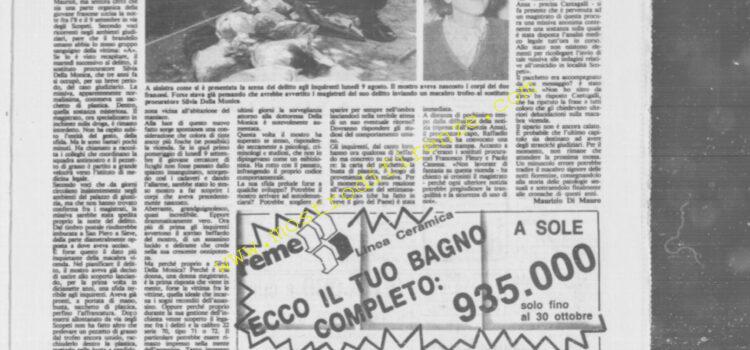 <b>27 Settembre 1985 Stampa: La Città</b>