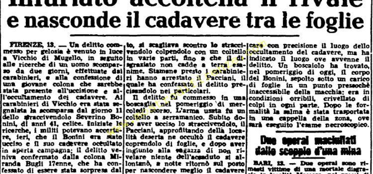 <b>14 Aprile 1951 Stampa: Unità</b>