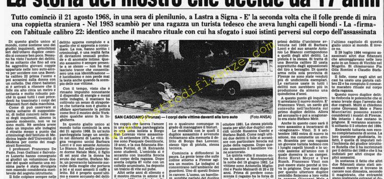 <b>10 Settembre 1985 Stampa: Corriere della Sera</b>