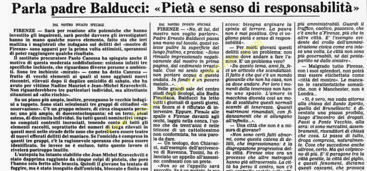 <b>13 Settembre 1985 Stampa: Corriere della Sera</b>