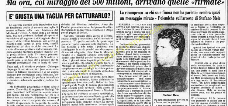 <b>21 Settembre 1985 Stampa: Corriere della Sera</b>