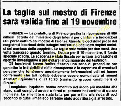 <b>25 Settembre 1985 Stampa: Corriere della Sera</b>