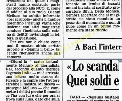 <b>10 Ottobre 1985 Stampa: Corriere della Sera</b>