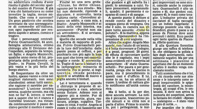 <b>24 Ottobre 1985 Stampa: Corriere della Sera</b>
