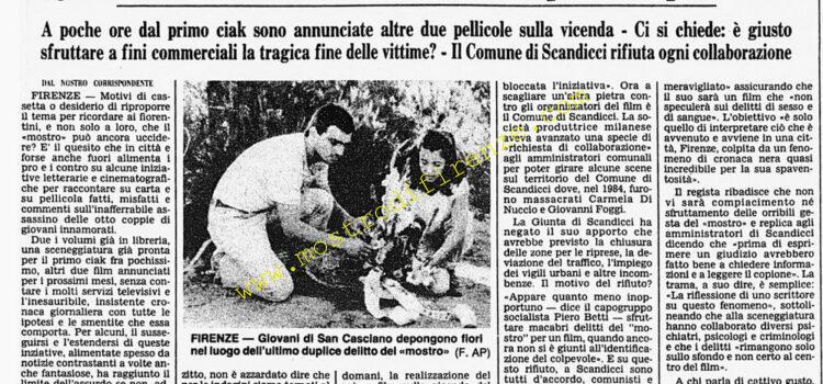 <b>18 Novembre 1985 Stampa: Corriere della Sera</b>