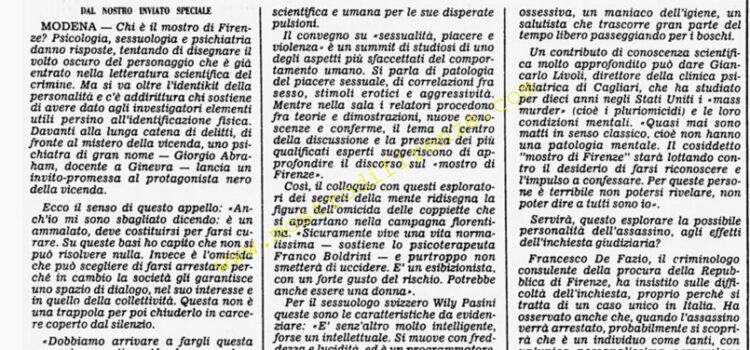<b>12 Dicembre 1985 Stampa: Corriere della Sera</b>