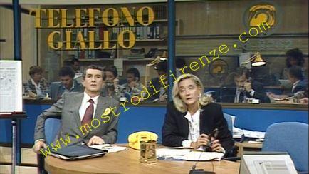 <b>6 Ottobre 1987 Trasmissione Telefono Giallo: Il Mostro di Firenze</b