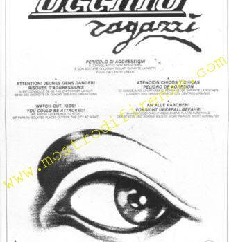 """<b>1 Maggio 1987 Riattivazione della campagna """"Occhio Ragazzi""""</b>"""