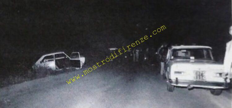 <b>20 Giugno 1982 La FIAT 147 di Paolo Mainardi dopo l'omicidio: Foto</b>