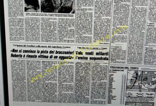 <b>22 Agosto 1984 Stampa: Corriere della Sera</b>